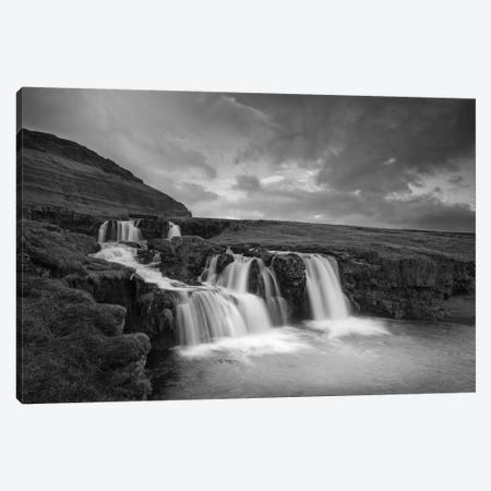 Snaefellsnes #2 B&W Canvas Print #MOL110} by Moises Levy Canvas Art