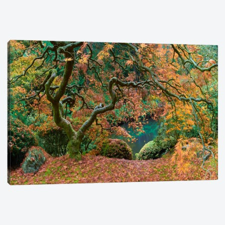 The Tree Final Canvas Print #MOL113} by Moises Levy Canvas Artwork
