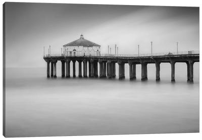 Manhattan Beach #3 Canvas Art Print
