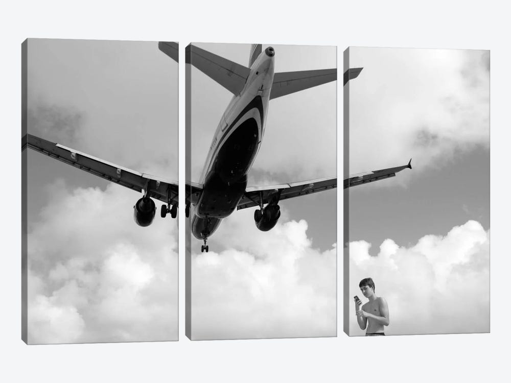 Airplanes #19 by Moises Levy 3-piece Art Print
