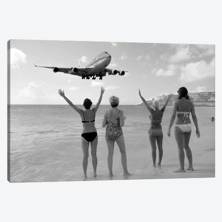 Airplanes #21 3-Piece Canvas #MOL131} by Moises Levy Canvas Artwork