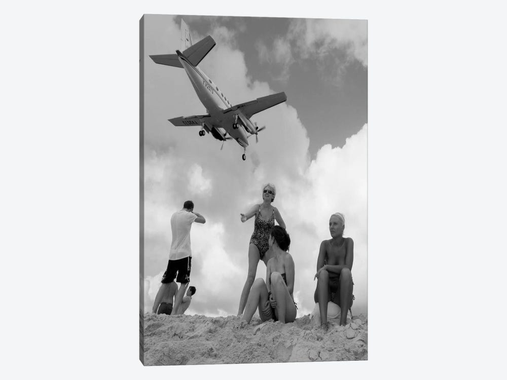 Airplanes #25 by Moises Levy 1-piece Canvas Art
