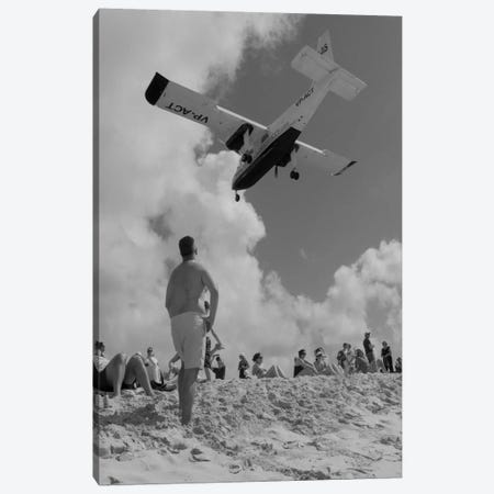 Airplanes #9 Canvas Print #MOL137} by Moises Levy Art Print