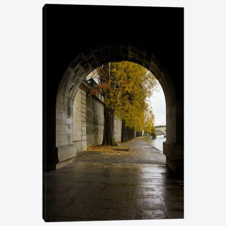 Autumn In Paris Canvas Print #MOL165} by Moises Levy Canvas Wall Art