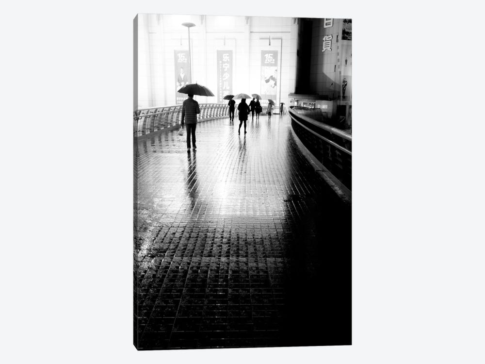 China Rain by Moises Levy 1-piece Canvas Art