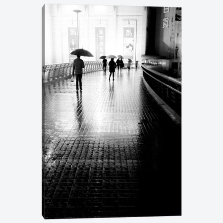 China Rain Canvas Print #MOL168} by Moises Levy Art Print