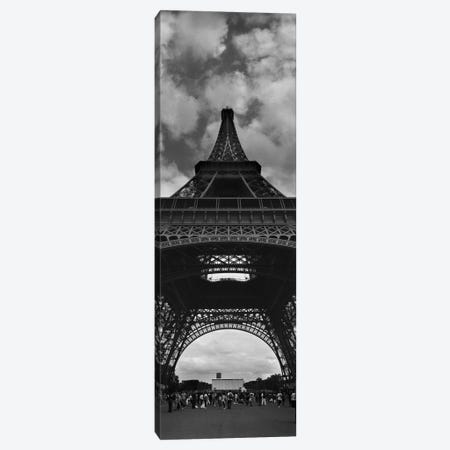 Eiffel Panoramic Canvas Print #MOL169} by Moises Levy Canvas Art Print