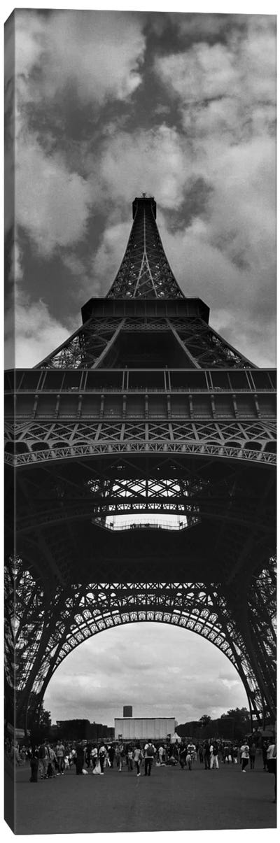 Eiffel Panoramic Canvas Art Print