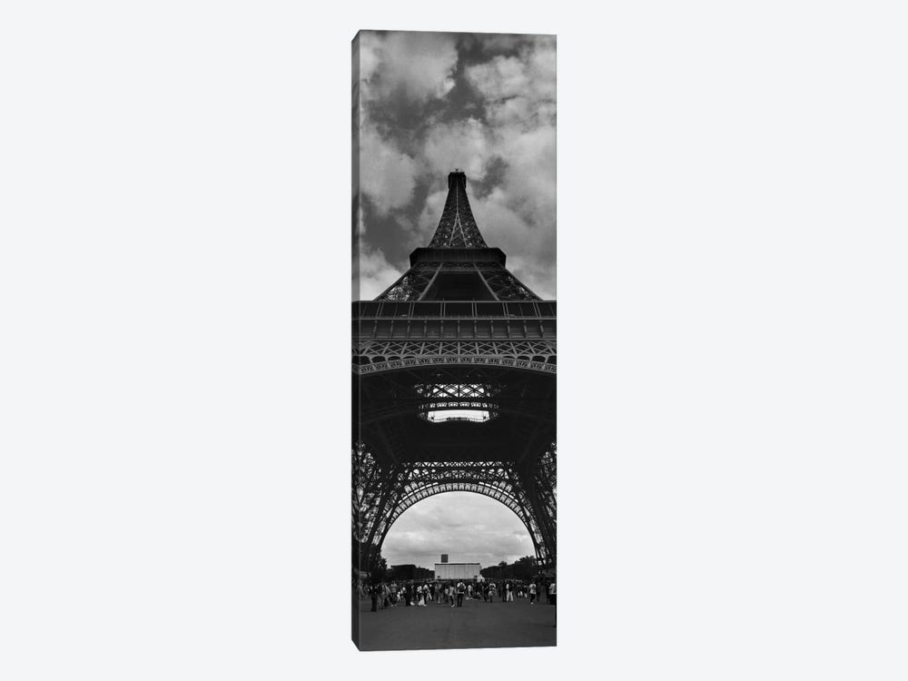 Eiffel Panoramic by Moises Levy 1-piece Canvas Print