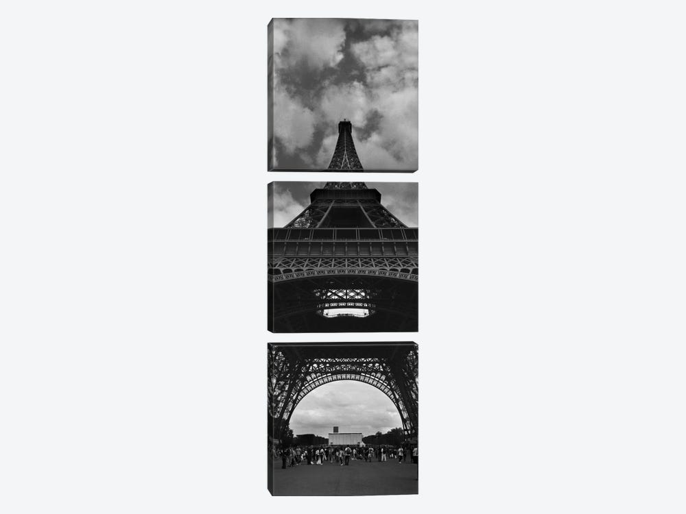 Eiffel Panoramic by Moises Levy 3-piece Art Print