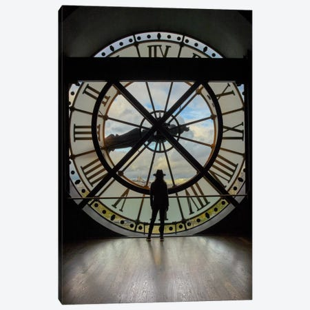 La Duena del Tiempo, Color Canvas Print #MOL174} by Moises Levy Canvas Art Print