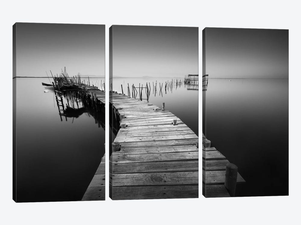 My Way V by Moises Levy 3-piece Art Print