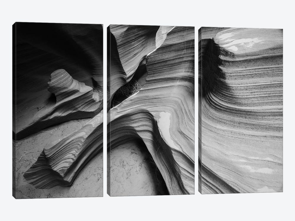 Snake Canyon by Moises Levy 3-piece Canvas Art