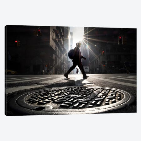 NYC Canvas Print #MOL180} by Moises Levy Canvas Art Print