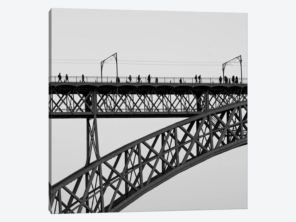 People On Porto by Moises Levy 1-piece Canvas Art