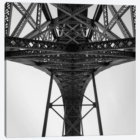 Porto Bridge Canvas Print #MOL183} by Moises Levy Canvas Art Print