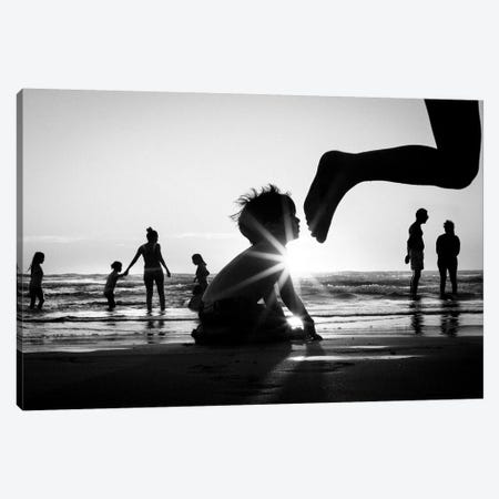 Tropical Shadows XVI Canvas Print #MOL209} by Moises Levy Canvas Artwork