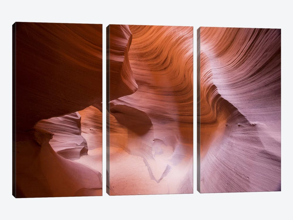 Spiral III by Moises Levy 3-piece Canvas Wall Art
