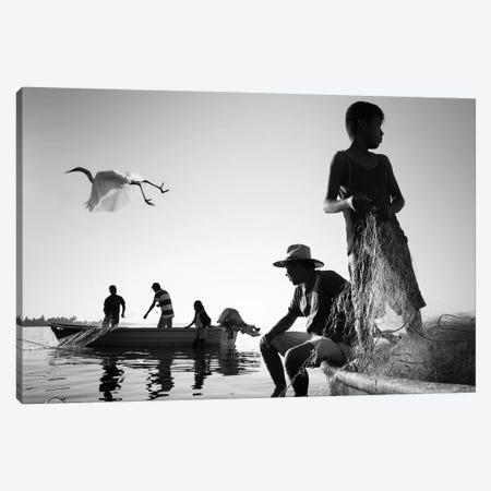 Tropical Shadows XXIII Canvas Print #MOL216} by Moises Levy Canvas Art