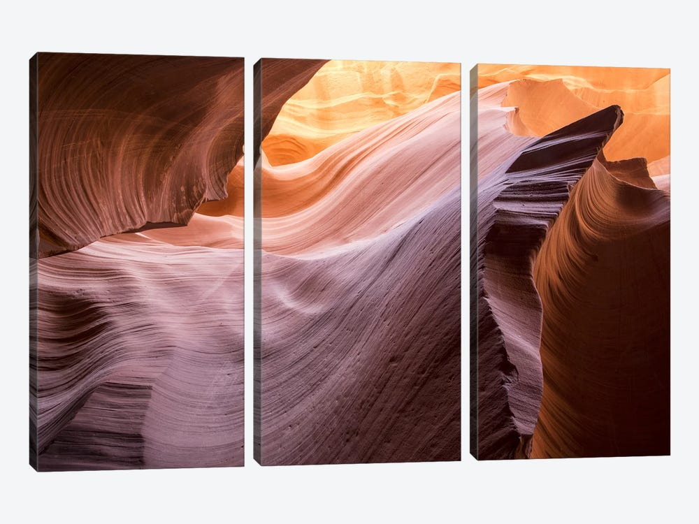 The Lower Wave II by Moises Levy 3-piece Canvas Art