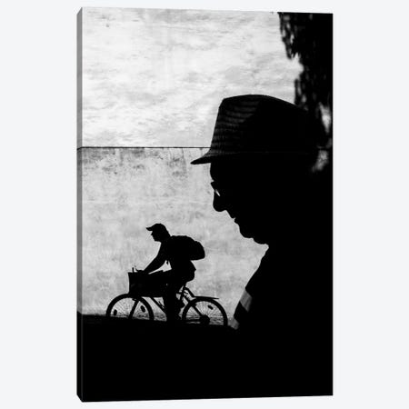 City Silhouettes II 3-Piece Canvas #MOL277} by Moises Levy Canvas Art