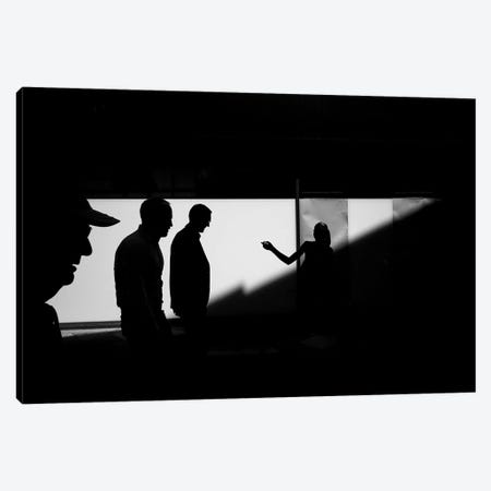 City Silhouettes IV Canvas Print #MOL279} by Moises Levy Canvas Art Print