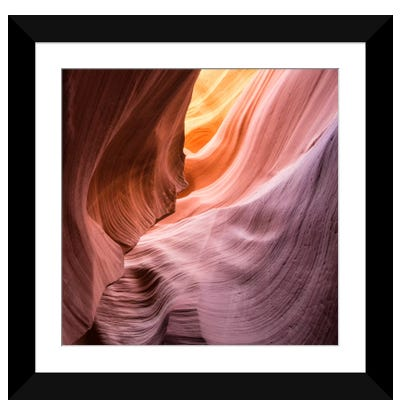 The Lower Wave III Framed Art Print