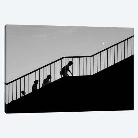 City Silhouettes VI Canvas Print #MOL281} by Moises Levy Canvas Wall Art