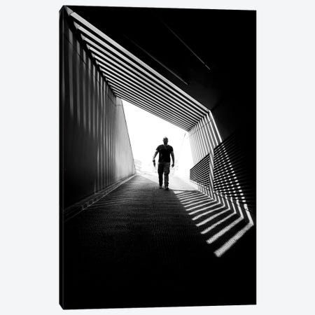 City Silhouettes VII Canvas Print #MOL283} by Moises Levy Canvas Wall Art