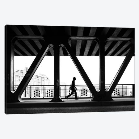 City Silhouettes IX Canvas Print #MOL284} by Moises Levy Canvas Print