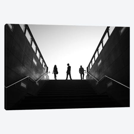 City Silhouettes XI Canvas Print #MOL286} by Moises Levy Canvas Art Print