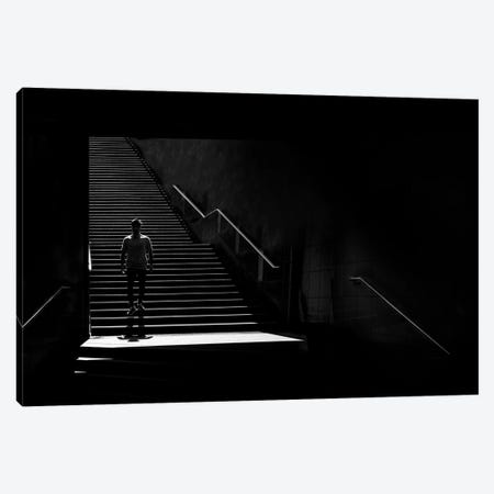 City Silhouettes XV 3-Piece Canvas #MOL290} by Moises Levy Canvas Print