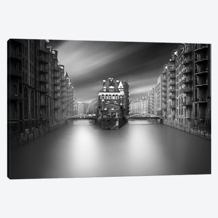 Hamburg Place Canvas Print #MOL294} by Moises Levy Canvas Art