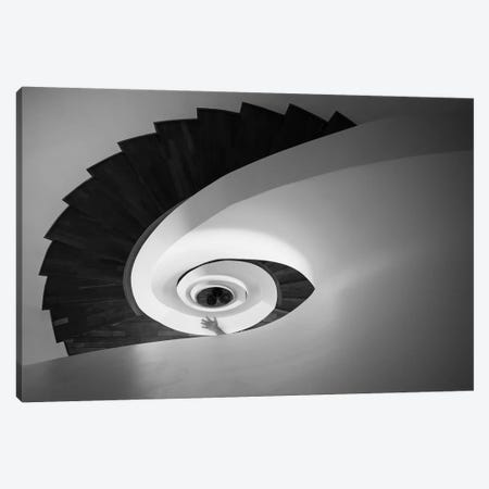 Infinite I 3-Piece Canvas #MOL299} by Moises Levy Canvas Print