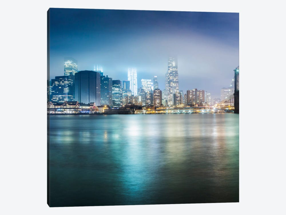 Brooklyn Bride Pano #2, part 1 of 3 1-piece Canvas Art Print
