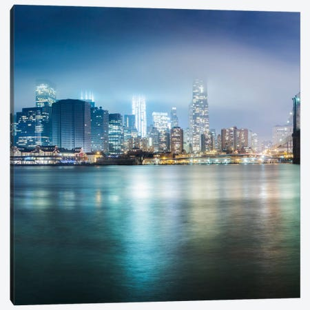 Brooklyn Bride Pano #2, part 1 of 3 Canvas Print #MOL29} by Moises Levy Canvas Art
