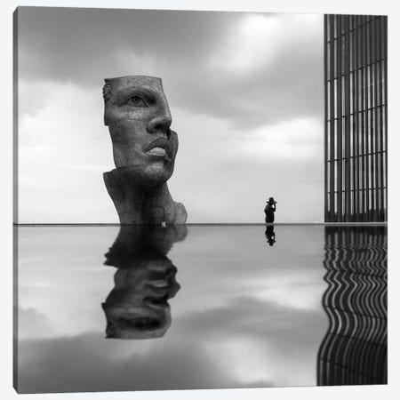 Reflection II Canvas Print #MOL308} by Moises Levy Canvas Print