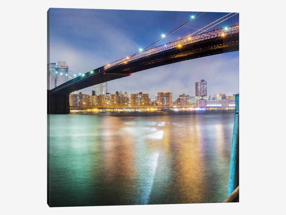 Brooklyn Bridge Pano #2, part 2 of 3 by Moises Levy 1-piece Art Print