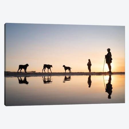 Dog City IV Canvas Print #MOL325} by Moises Levy Canvas Artwork