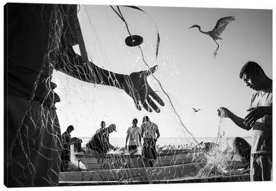 Fishermen Waters VI Canvas Art Print