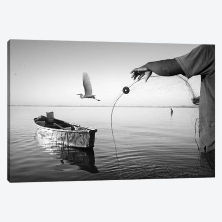 Fishermen Waters XIII Canvas Print #MOL354} by Moises Levy Canvas Print
