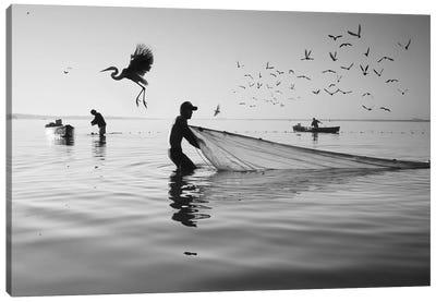 Fishermen Waters XVI Canvas Art Print