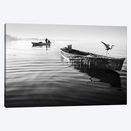 Fishermen Waters XVII 3-Piece Canvas #MOL358} by Moises Levy Canvas Wall Art