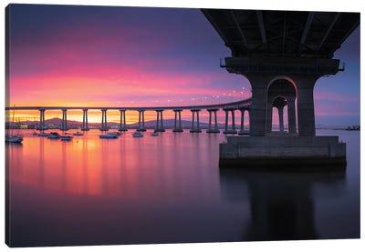 Coronado Bridge III Canvas Art Print
