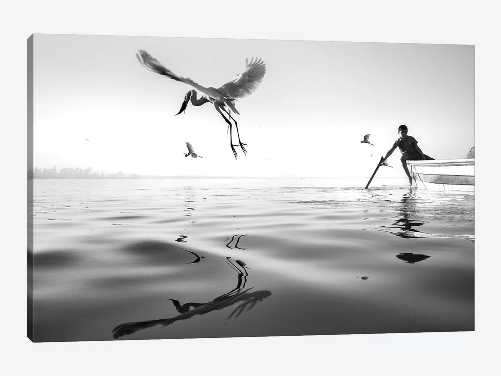 Fishermen V by Moises Levy 1-piece Art Print