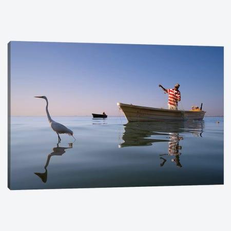 Fishermen IX Canvas Print #MOL374} by Moises Levy Canvas Print