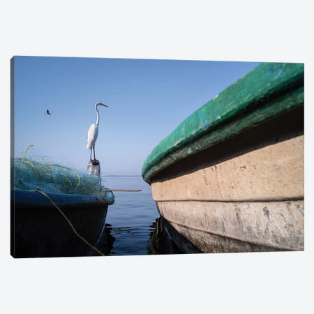 Fishermen XI Canvas Print #MOL376} by Moises Levy Art Print