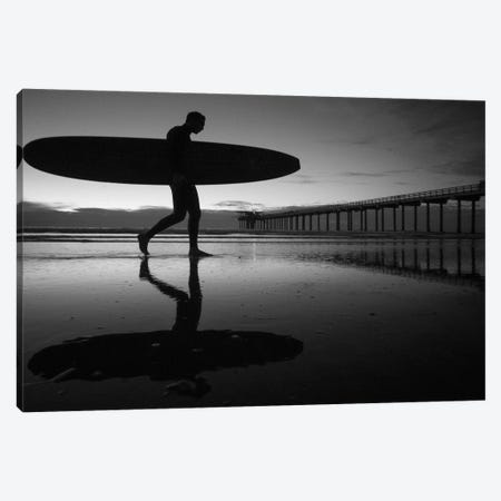 Surfer III Canvas Print #MOL382} by Moises Levy Canvas Print