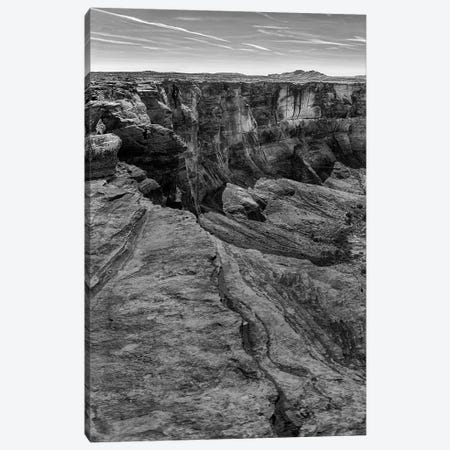 Horseshoe Bend BW, part 1 of 3 Canvas Print #MOL39} by Moises Levy Canvas Art Print