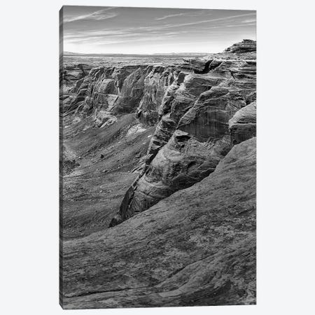 Horseshoe Bend BW, part 3 of 3 Canvas Print #MOL41} by Moises Levy Canvas Art